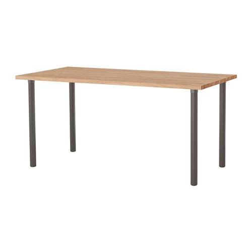 【IKEA/イケア/通販】 GERTON / ALVARET テーブル, ビーチ, グレー(a)(S49222250)