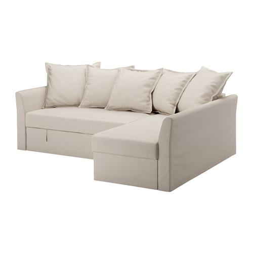 【IKEA/イケア/通販】 HOLMSUND コーナーソファベッド, ノールドヴァッラ ベージュ(a)(S59150752)