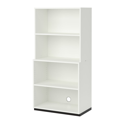 【IKEA/イケア/通販】 GALANT オープン収納コンビネーション, ホワイト(d)(S59223310)