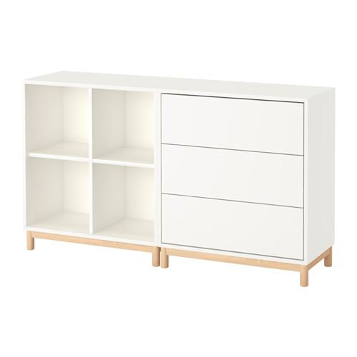【IKEA/イケア/通販】 EKET キャビネットコンビネーション 脚付き, ホワイト(a)(S59189207)