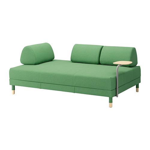 【IKEA/イケア/通販】 FLOTTEBO ソファベッド サイドテーブル付き, リーセード グリーン(a)(S59222240)