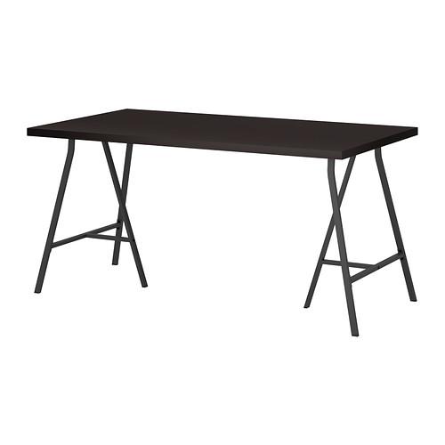 【特選商品】【IKEA/イケア/通販】 LINNMON / LERBERG テーブル, ブラックブラウン, グレー(c)(S69246434)