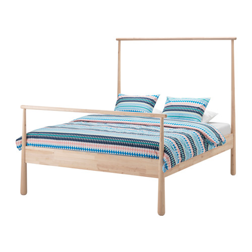 【IKEA/イケア/通販】 GJÖRA ベッドフレーム, バーチ, レイルスンド(a)(S69243968)