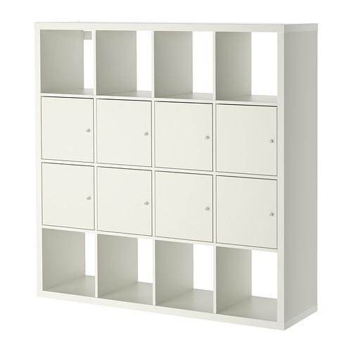 【IKEA/イケア/通販】 KALLAX シェルフユニット インサート8個付き, ホワイト(a)(S69197565)