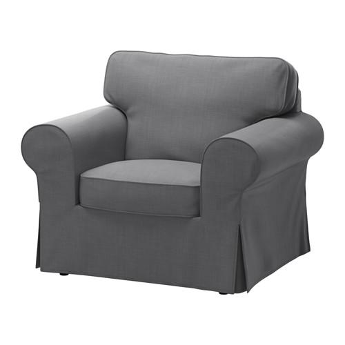 【IKEA/イケア/通販】 EKTORP アームチェア, ノールドヴァッラ ダークグレー(c)(S69164895)