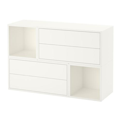 【限定価格セール!】 【IKEA EKET/イケア/通販】 EKET 壁取り付け式キャビネットコンビネーション, ホワイト(a)(S79189485), あっお勧め!素敵生活のナイスデイ:24080aad --- construart30.dominiotemporario.com