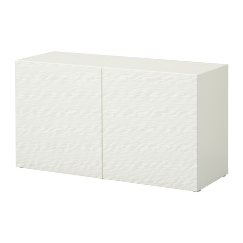 【IKEA/イケア/通販】 BESTÅ シェルフユニット 扉付, ラクスヴィーケン ホワイト(a)(S89221381)