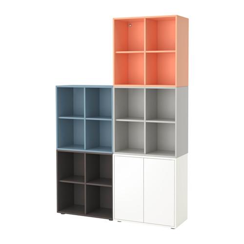 【IKEA/イケア/通販】 EKET キャビネットコンビネーション 足付き, マルチカラー2(a)(S89221084)