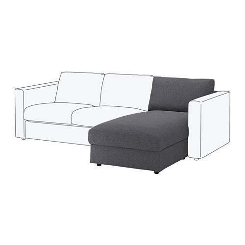【IKEA/イケア/通販】 VIMLE 寝椅子セクション, グンナレド ミディアムグレー(a)(S89197588)