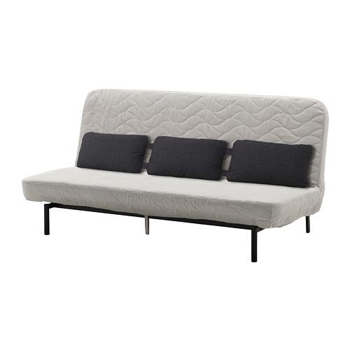 【IKEA/イケア/通販】 NYHAMN ソファベッド トリプルクッション付き, フォームマットレス, ボッレド ライトベージュ(a)(S99247677)