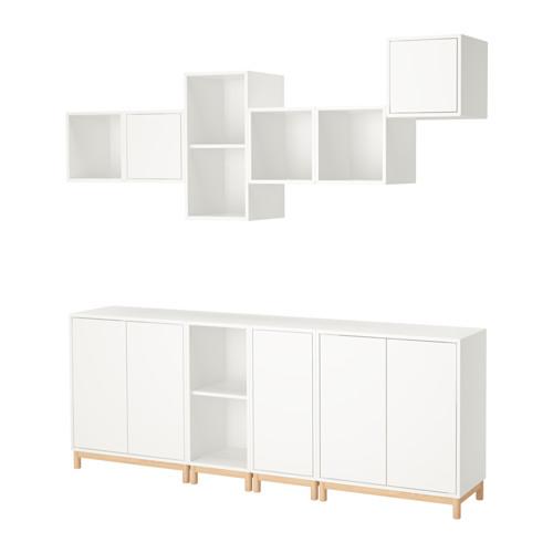【IKEA/イケア/通販】 EKET キャビネットコンビネーション 脚付き, ホワイト(a)(S99221069)