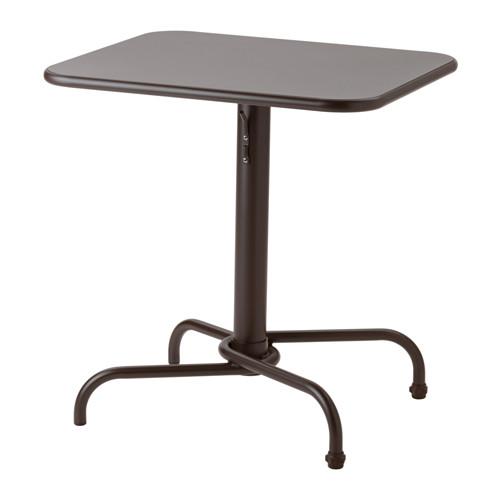 【期間限定】【IKEA/イケア/通販】 TUNHOLMEN テーブル 屋外用, ダークブラウン(c)(40326285)