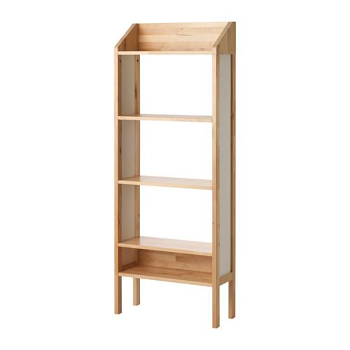 【期間限定】【IKEA/イケア/通販】 KUNSKAP シェルフユニット, バーチ, ホワイト(d)(40319001)
