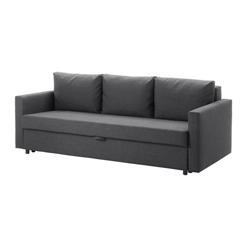 【IKEA/イケア/通販】 FRIHETEN 3人掛けソファベッド, スキフテボー ダークグレー(a)(30341149)
