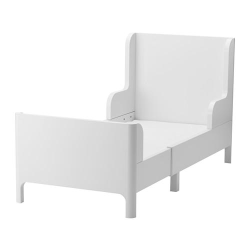 【IKEA/イケア/通販】 BUSUNGE 伸長式ベッド, ホワイト(c)(50351340)