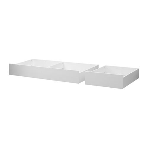 【IKEA/イケア/通販】 HEMNES ベッド下収納ボックス2個セット, ホワイトステイン(c)(60351330)