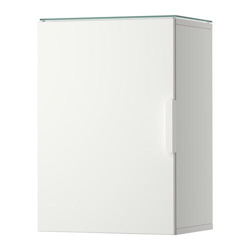 【IKEA/イケア/通販】 GODMORGON ウォールキャビネット 扉1枚付き, ホワイト(b)(80330431)