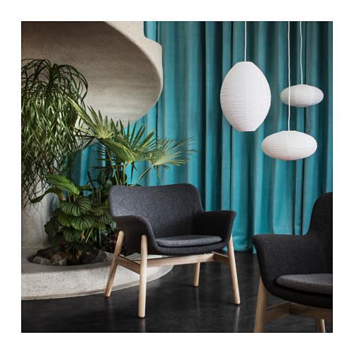 【IKEA/イケア/通販】 VEDBO アームチェア, グンナレド ダークグレー(a)(80342486)