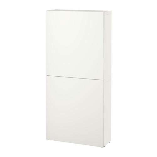 【IKEA/イケア/通販】 BESTÅ ウォールキャビネット 扉2枚付き, ラップヴィーケン ホワイト(a)(S09187201)