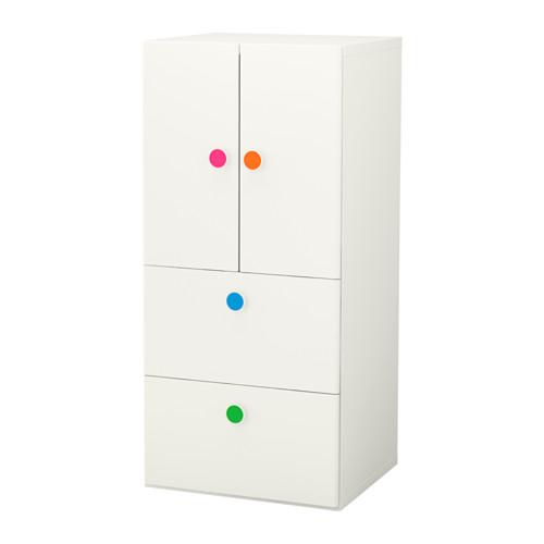 【IKEA/イケア/通販】 STUVA / FÖLJA 収納コンビネーション 扉/引き出し付き, ホワイト(a)(S29222091)