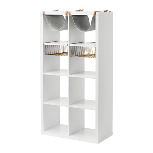 【IKEA/イケア/通販】 KALLAX シェルフユニット インサート4個付き, ホワイト(a)(S19207029)