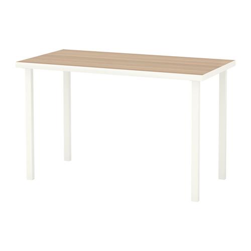 【特選商品】【IKEA/イケア/通販】 LINNMON / GODVIN テーブル, ホワイト ホワイトステインオーク調, ホワイト(c)(S09214214)