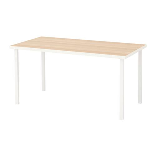 【特選商品】【IKEA/イケア/通販】 LINNMON / GODVIN テーブル, ホワイト ホワイトステインオーク調, ホワイト(a)(S29215694)