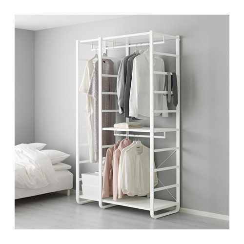 【IKEA/イケア/通販】 ELVARLI 2セクション, ホワイト(b)(S49158145)