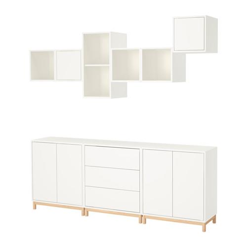 【IKEA/イケア/通販】 EKET キャビネットコンビネーション 脚付き, ホワイト(a)(S49189482)