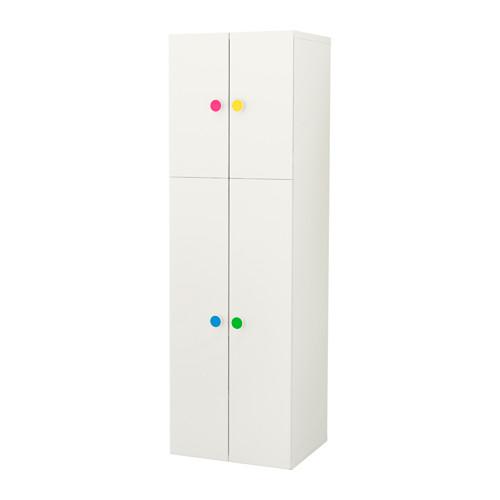 【IKEA/イケア/通販】 STUVA / FÖLJA ワードローブ 扉4枚付, ホワイト(a)(S69180602)