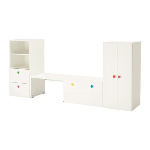 【IKEA/イケア/通販】 STUVA / FÖLJA 収納コンビネーション ベンチ付き, ホワイト(a)(S69222094)