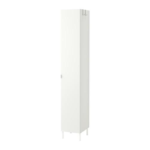 【IKEA/イケア/通販】 LILLÅNGEN ハイキャビネット 扉1枚付, ホワイト(a)(S69188014)