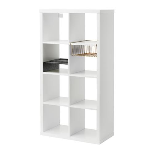 【IKEA/イケア/通販】 KALLAX シェルフユニット インサート2個付き, ホワイト(a)(S49207037)