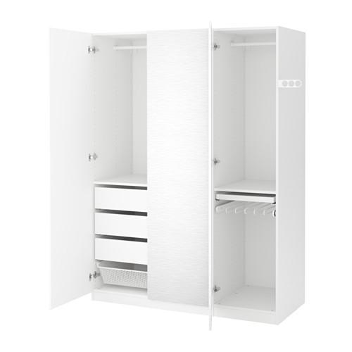 【IKEA/イケア/通販】 PAX ワードローブ, ホワイト, ヴィンテルブロ ホワイト(a)(S99128603)