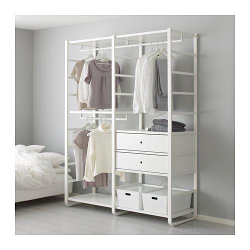 【IKEA/イケア/通販】 ELVARLI 2セクション, ホワイト(b)(S89157568)