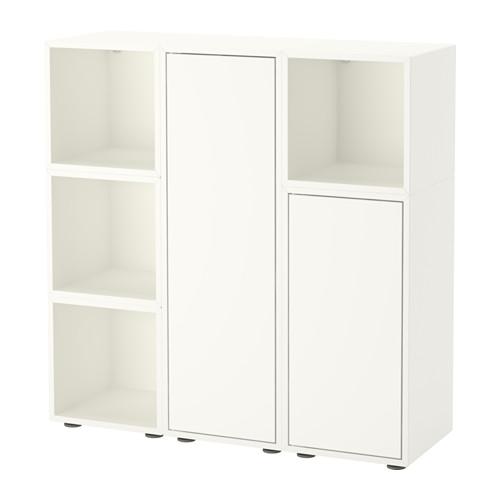 【IKEA/イケア/通販】 EKET キャビネットコンビネーション 足付き, ホワイト(a)(S99189470)