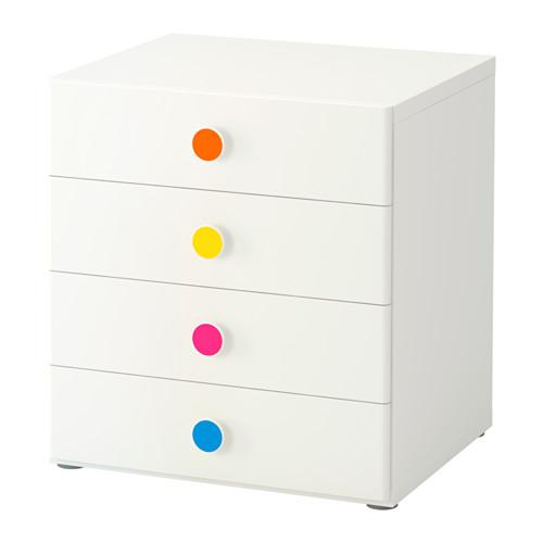 【IKEA/イケア/通販】 STUVA / FÖLJA 収納コンビネーション 引き出し付, ホワイト(a)(S99222083)