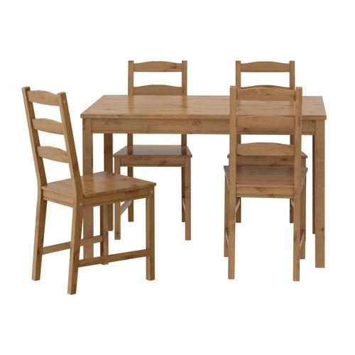 【IKEA/イケア/通販】 JOKKMOKK テーブル&チェア4脚, アンティークステイン(c)(60365803)