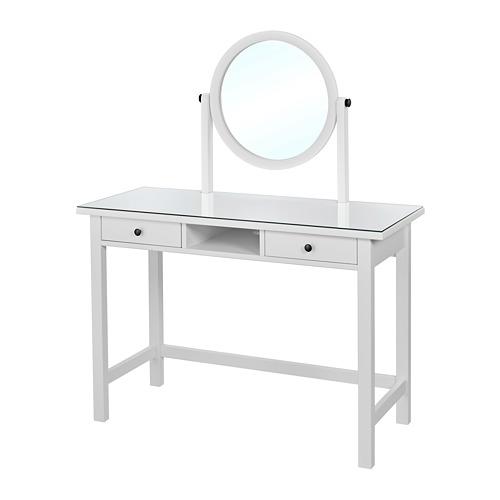 【IKEA/イケア/通販】 HEMNES ドレッシングテーブル ミラー付き, ホワイト(a)(50393161)