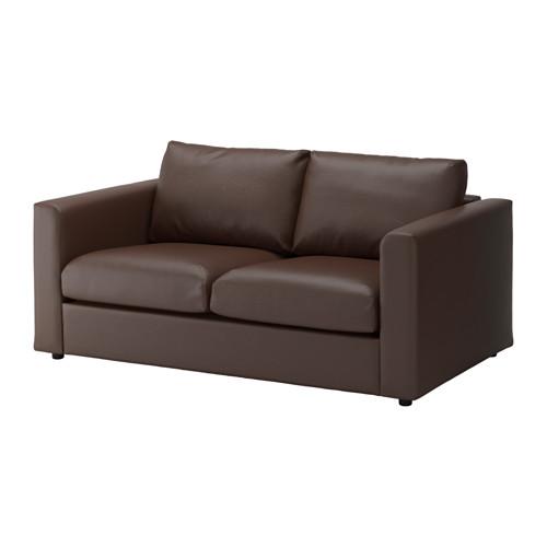 【IKEA/イケア/通販】 VIMLE 2人掛けソファ, ファールスタ ダークブラウン(c)(S29205204)