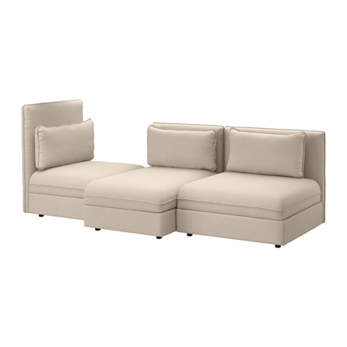 【IKEA/イケア/通販】 VALLENTUNA 3人掛けソファ, オッルスタ ベージュ(a)(S29144215)