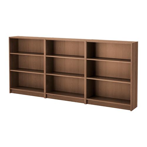【IKEA/イケア/通販】 BILLY 書棚, ブラウン アッシュ材突き板(a)(S39184475)