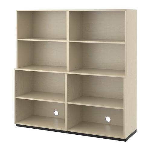 【IKEA/イケア/通販】 GALANT オープン収納コンビネーション, バーチ材突き板(a)(S59222985)