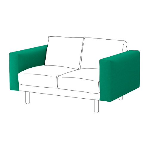 【IKEA/イケア/通販】 NORSBORG アームレスト, エードゥム ブライトグリーン(a)(S59241615)