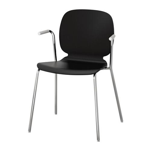 入荷中 【IKEA/イケア チェア/通販】 SVENBERTIL チェア ブラック, アームレスト付き, ブラック, SVENBERTIL ディエトマール クロムメッキ(b)(S79201312), 大浦町:75c25889 --- hortafacil.dominiotemporario.com