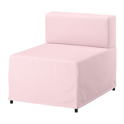【IKEA/イケア/通販】 KUNGSHAMN 1人掛けシートモジュール, イーデクッラ ピンク(a)(S89248187)