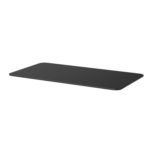 【IKEA/イケア/通販】 BEKANT ベカント テーブルトップ, ブラックステインアッシュ材突き板(40366304)