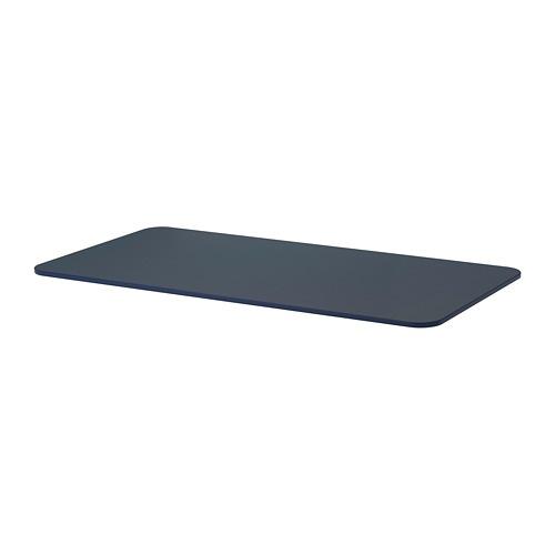 【IKEA/イケア/通販】 BEKANT ベカント テーブルトップ, リノリウム ブルー(90366306)