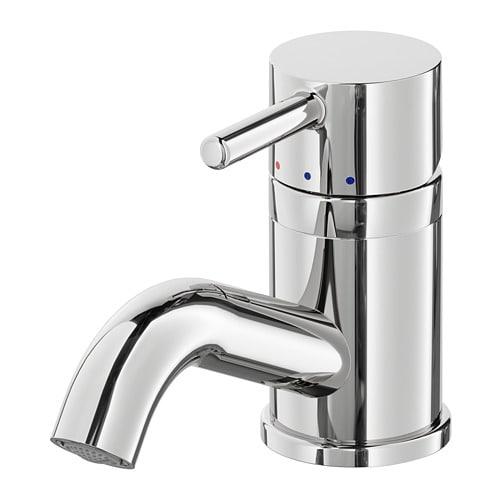 【IKEA/イケア/通販】 PILKÅN ピルコーン 洗面台用混合栓 ストレーナー付き, クロムメッキ(f)(00400338)