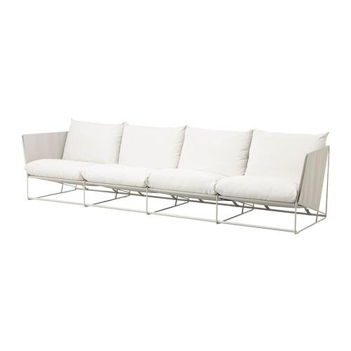 【IKEA/イケア/通販】 HAVSTEN ハーヴステン 4人掛けソファ 室内/屋外用, ベージュ(a)(S09252079)